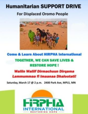 Humanitarian Support Drive by HIRPHA International